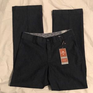 Midrise fit trousers